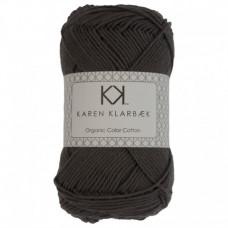 Karen Klarbæk - Økologisk bomuldsgarn 8/4 - Charcoal