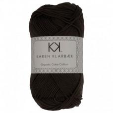 Karen Klarbæk - Økologisk bomuldsgarn 8/4 - Dark Grey