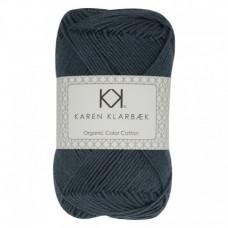 Karen Klarbæk - Økologisk bomuldsgarn 8/4 - Dark marine