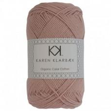 Karen Klarbæk - Økologisk bomuldsgarn 8/4 - Dark Old Rose