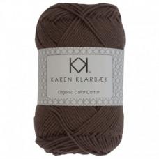 Karen Klarbæk - Økologisk bomuldsgarn 8/4 - Dark Sand