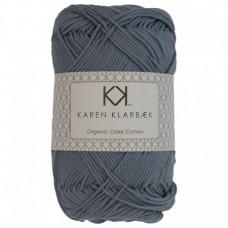 Karen Klarbæk - Økologisk bomuldsgarn 8/4 - Faded Jeans Blue