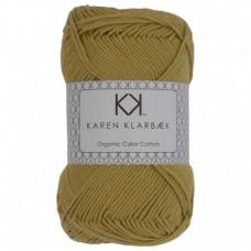 Karen Klarbæk - Økologisk bomuldsgarn 8/4 - Faded Yellow