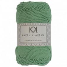 Karen Klarbæk - Økologisk bomuldsgarn 8/4 - Jade Green