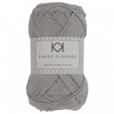 Karen Klarbæk - Økologisk bomuldsgarn 8/4 - Light Cool Grey