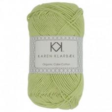 Karen Klarbæk - Økologisk bomuldsgarn 8/4 - Light Green