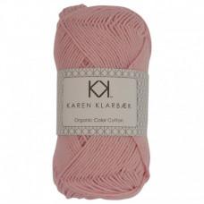 Karen Klarbæk - Økologisk bomuldsgarn 8/4 - Light Rose