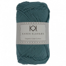 Karen Klarbæk - Økologisk bomuldsgarn 8/4 - Medium Petrol Blue