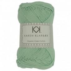 Karen Klarbæk - Økologisk bomuldsgarn 8/4 - Mint Green