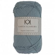 Karen Klarbæk - Økologisk bomuldsgarn 8/4 - Pastel Blue