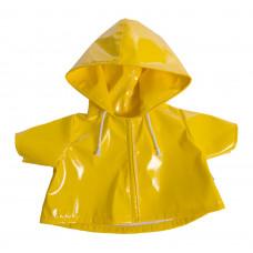 Rubens barn - Kids dukketøj - Gul regn frakke