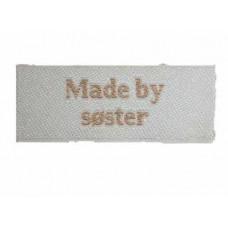 Sy mærke - Label - Made by søster