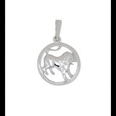 Nordahl Andersen - Vedhæng sølv - stjernetegn løve