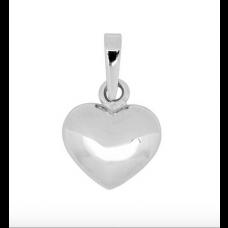 Nordahl Andersen - Vedhæng sølv - lille hjerte, 10 mm