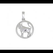Nordahl Andersen - Vedhæng sølv - stjernetegn tyren
