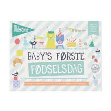 Milestone - The Original - Baby's første fødselsdag - Dansk version