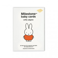Milestone - The Original - Miffy baby kort - Dansk version
