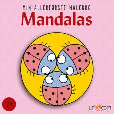 Forlaget Unicorn - Min allerførste mandala malebog - Mariehøns