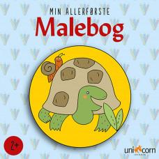 Forlaget Unicorn - Min allerførste mandala malebog - Skildpadde