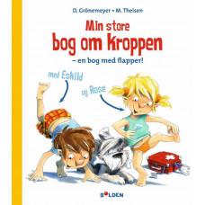 Forlaget Bolden - Papbog - Min store bog om kroppen - en bog med flapper