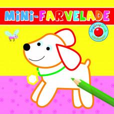 Forlaget Bolden - Snip snap snude minibøger - Mini-farvelade - Hund