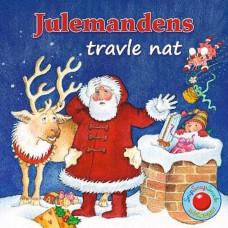 Forlaget Bolden - Snip snap snude minibøger - Kalendergave - Julemandens travle nat