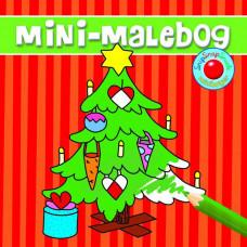 Forlaget Bolden - Snip snap snude minibøger - Kalendergave - Malebog - juletræ