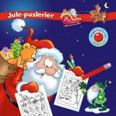 Forlaget Bolden - Snip snap snude minibøger - Kalendergave - Julepuslerier