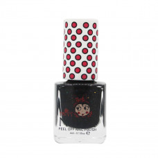 Miss Nella - Neglelak - Peel off - Black glimmer