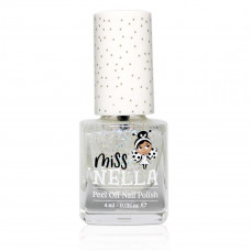 Miss Nella - Neglelak - Peel off - Confetti Clouds - Clear