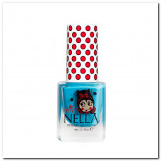 Miss Nella - Neglelak - Peel off - Mermaid Blue