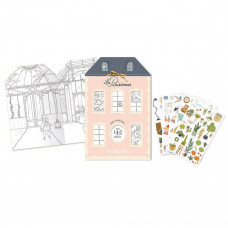Moulin Roty - Malebog med stickers - Paris