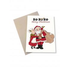 Mouse & Pen - Julekort - Ho Ho Ho
