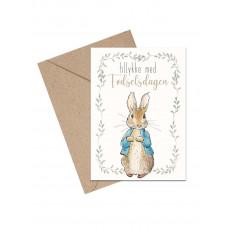 Mouse & Pen - Lykønskningskort - Fødselsdag kort - Peter Kanin