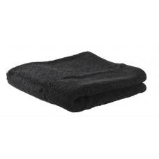 Munkholm - Kvalitets Badehåndklæde - 70 x 140 - Sort