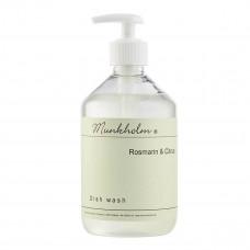Munkholm - Opvaskemiddel med pumpe, miljøvenligt - Rosmarin & Citrus - 500 ml.