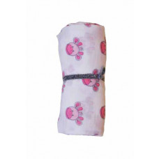 My Teddy - Swaddle pink giraf