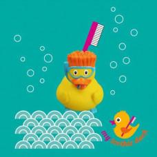 My toothie duck - Tandbørsteholder til børn - Dykker and