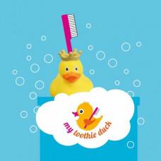 My toothie duck - Tandbørsteholder til børn - Kongelig and