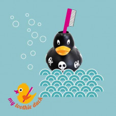 My toothie duck - Tandbørsteholder til børn - Pirat and