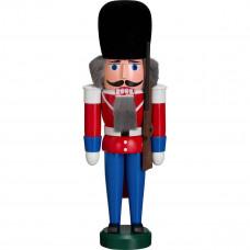 Julepynt - Nøddeknækker - Soldat Garder 28 cm - Rød