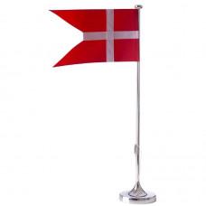 Nordahl Andersen - Bordflag 40 cm - sølvplet