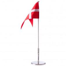 Nordahl Andersen - Bordflag 40 cm - Forkromet med blank fod