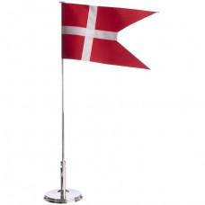 Nordahl Andersen - Bordflag Carl Hansen 40 cm - Incl. dåbsfod
