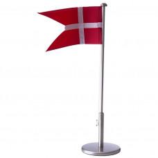 Nordahl Andersen - Bordflag 30 cm - Fortinnet med massiv fod