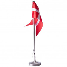 Nordahl Andersen - Bordflag 38,5 cm - Fortinnet med rund fod