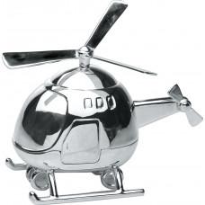 Nordahl Andersen - Sølvplet Sparebøsse - Helikopter