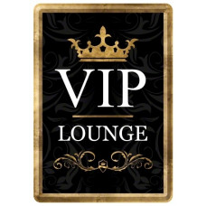 Nostalgic Art - Metal Lykønskningskort - Fødselsdagskort - VIP Lounge