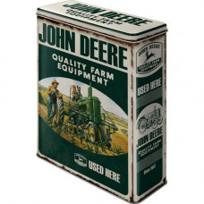 Nostalgic Art - Metal dåse XL - John Deer Quality Farm Equipment