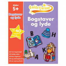 Karrusel Forlag - Guldstjerne - Bogstaver og lyde